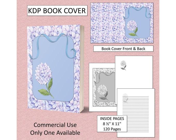 Pretty Floral Cover Design KDP Book Cover Kindle Cover Template KDP Cover Premade Book Covers Amazon KDP Book Covers Digital Book Cover