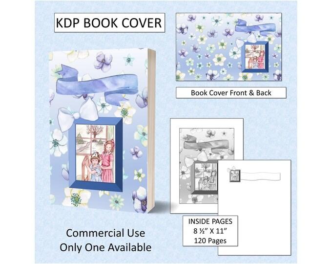 Girls Kids Book Cover Design - Original Artwork