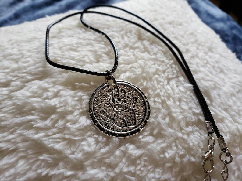 Necklace Skyrim TES Dark Brotherhood Cosplay Pendant