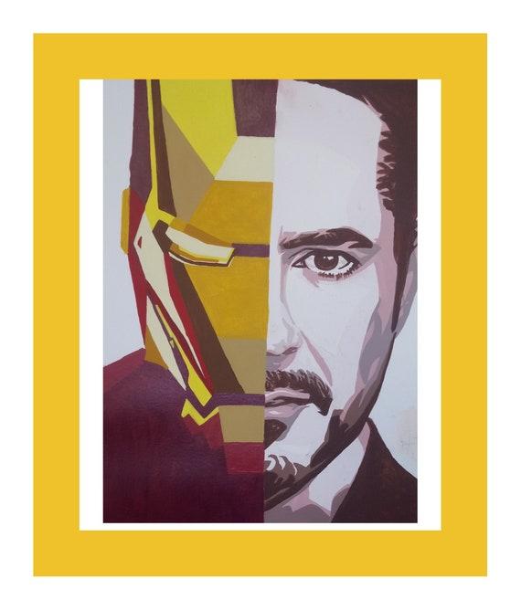 Endgame Iron Man Half-Mask Marvel Avengers