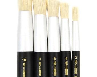 Prima Memory Hardware ARTISAN POWDER Brush Set OF 3 Soft Bristle Brushes #991746