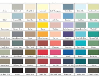 DIXIE BELLE CHALK Mineral Paint, All Colors, All Sizes