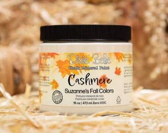 New! LIMITED EDITION! CASHMERE Dixie Belle Paint, Fall 2021, Suzanne's Fall Colors, Chalk Mineral Paint, 16oz.