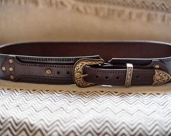 Western gun belt | Etsy