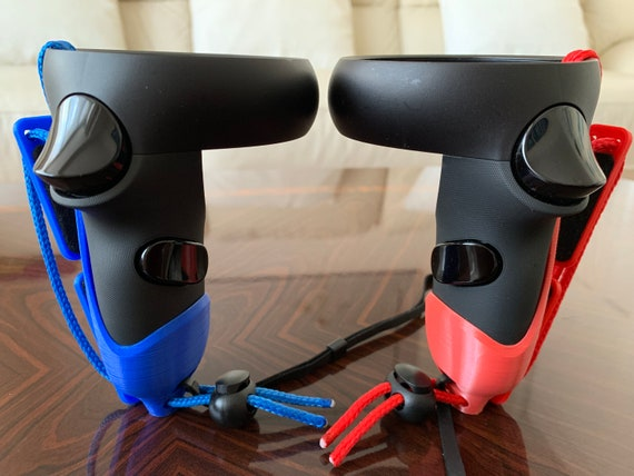 Oculus Quest / Rift S Touch Controller Grips - Valve Index Style Grips -  Handmade For Oculus Quest & Rift S Controllers
