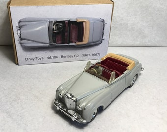 Dinky Toys Bentley S2 ref. 194 (1961-1967) Made in England