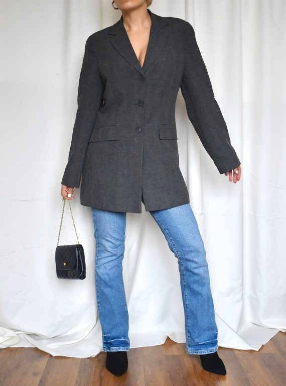 Vintage oversized blazer - image 4