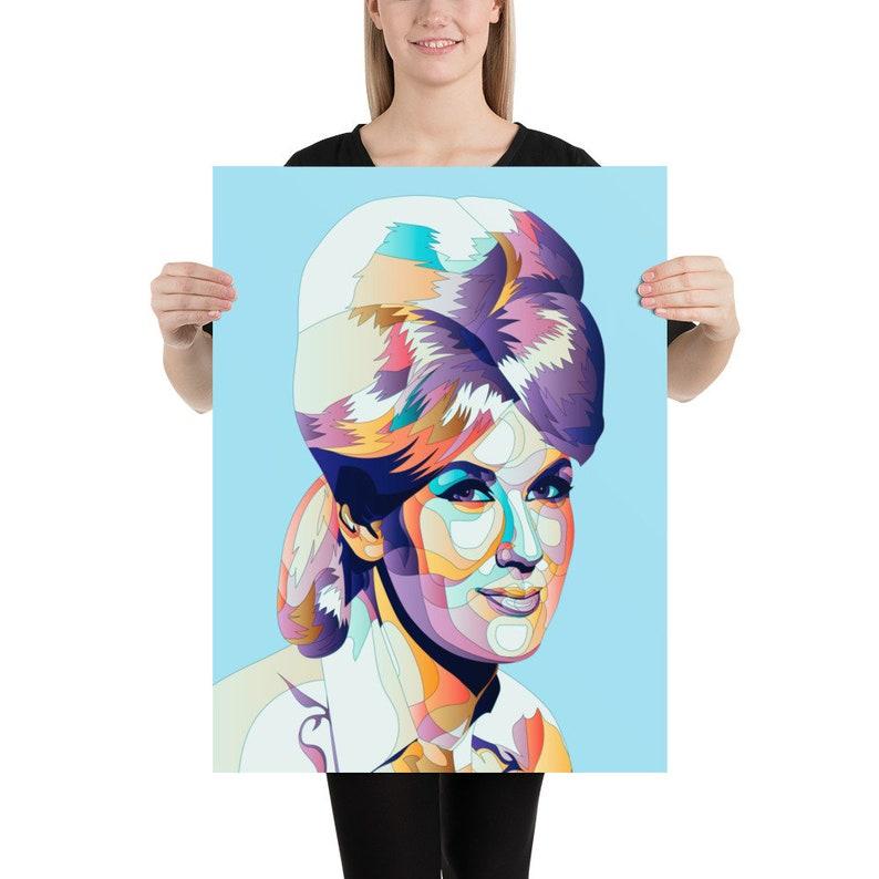 Dusty Springfield Poster Multiple Sizes Wall Art Portrait Print
