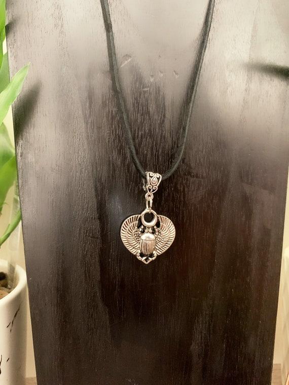 Scarab Egyptian Symbol Necklace