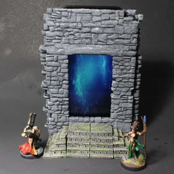 Forbidden Watchtower Old Ancient Mystic Healing Waters Roleplay RP Terrain
