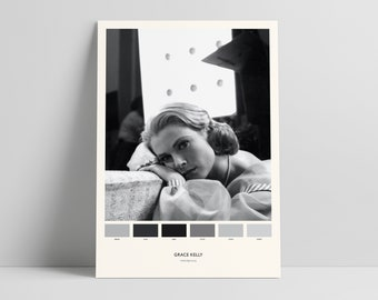Lost In Translation Colour Palette Print  Cinetone Alternative Poster  Movie Fan Gift A4 or A3 Sized