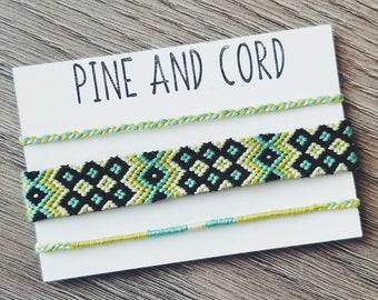 Friendship Bracelet Gifts DMC Embroidery Floss Friendship Bracelet Set Handmade Friendship Bracelets Friendship Bracelet Woven