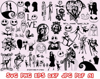 Jack And Sally Etsy
