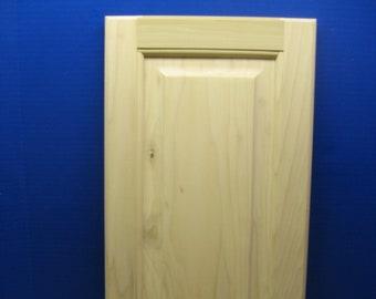 Unfinished Poplar Raised Panel Cabinet Door plus **Custom Sizes**