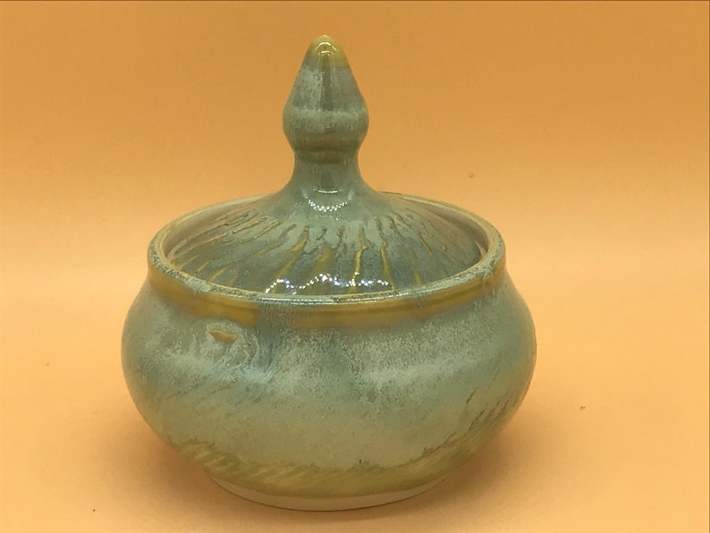 pottery Small pet urnkeepsake dish ceramic handmade