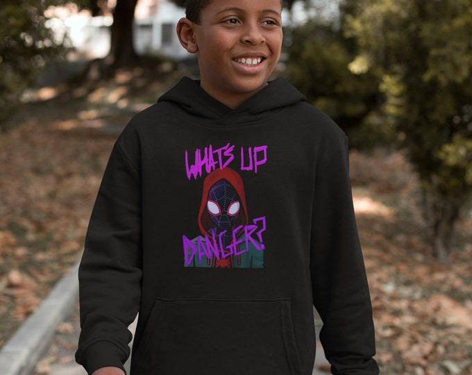 Featured listing image: What's up danger? Miles Morales fan art, Into the spiderverse, Spiderman, black superheroes