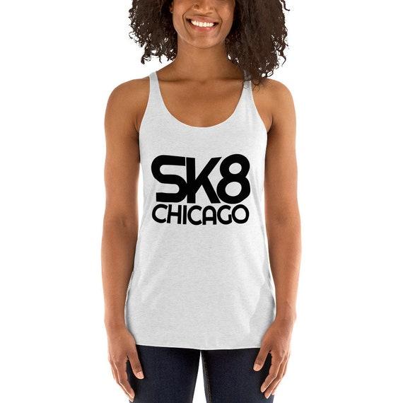 Chicago Skyscraper Women/'s Racerback Tank