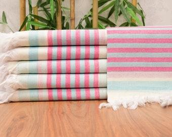 "Personalized Turkish Towel, 70x40"", Beach Towel, Personalized Gifts,  Beach Blanket, Wedding Towel, Bachelorette Towel, Bridesmaid Gift"