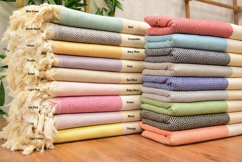 Personalized Turkish Towel personalized gifts Holiday Home image 0