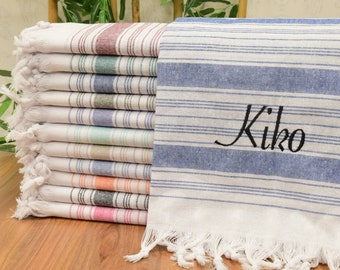 """70x31"""",Personalized Turkish Towel, Turkish Towel Beach, Personalized Gifts, Bachelorette Towel,Bridesmaid Gift, Fathers Day Gift,Fathers Day"""