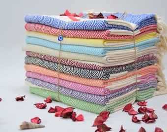 Turkish Hand Towel, Naturel Cotton Dish Towel, Organic Turkish Tea Towel, Washclothes, Kitchen Towel, Head Towel, wholesale towel,bulk towel