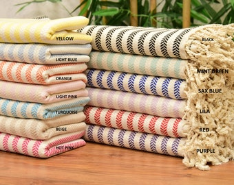 """70x40"""", Personalized Turkish Towel, personalized gifts, Holiday, Fathers Day, Bachelorette Towel, Bridesmaid Gift Box, Wedding Towel"""
