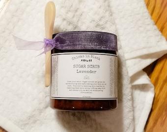 Sugar Scrubs: Lavender, Dark Chocolate