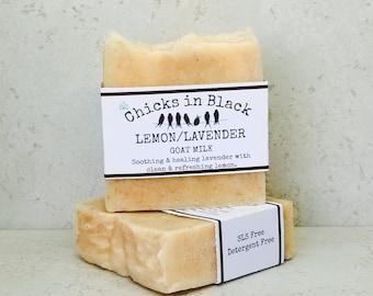 Lemon / Lavender (Goat Milk)
