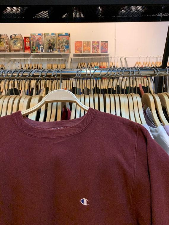 Vintage champion reverse weave sweatshirt vintage… - image 3