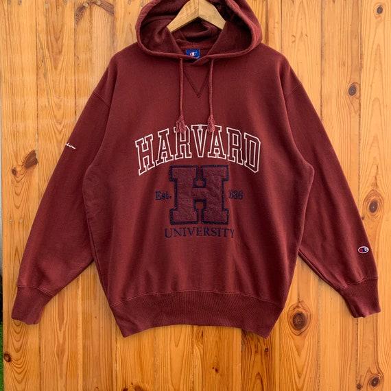 Vintage champion Harvard university hoodie vintage