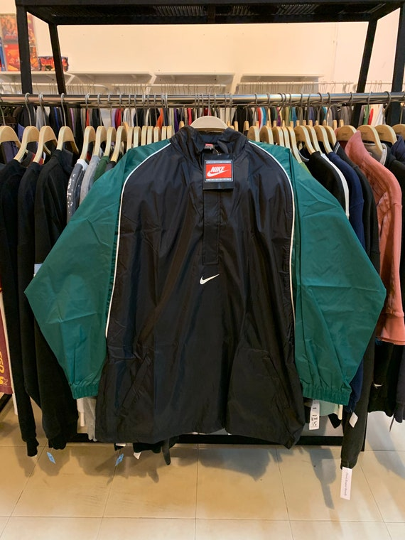 Vintage 90s Nike windbreaker new old stock with ta