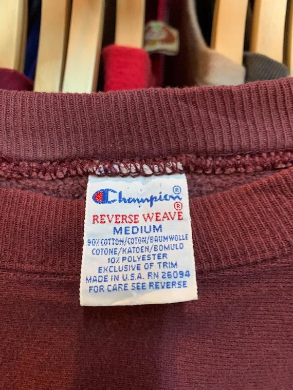 Vintage champion reverse weave sweatshirt vintage… - image 4