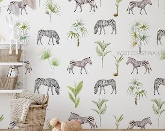 Zebra wallpaper Various colors #4 Remove wallpaper Animal print