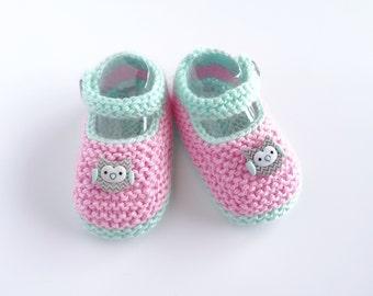 baby girl newborn gift setwoodland themenb setmoccasinsbaby booties setheadbandbownylon