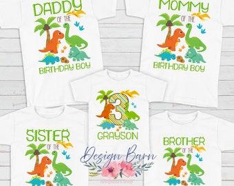 Dinosaur Parents Mom and Dad Dinosaur Shirts Mom and Dad Dino Shirts MOM asaurus Dino Birthday DAD asaurus Dinosaur Birthday Shirts