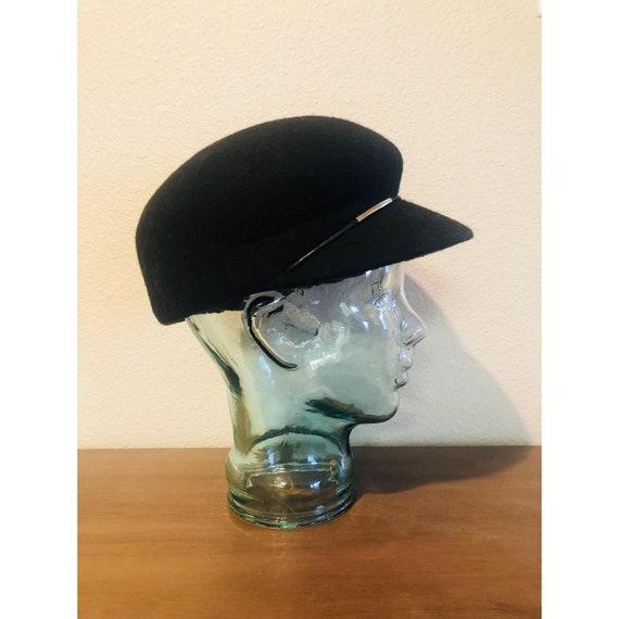 Vintage Newsboy Wool Hat