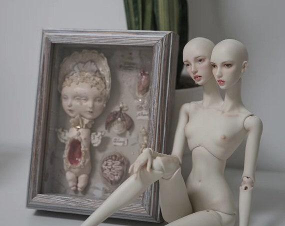 Metis doll - Dicephalus Twin