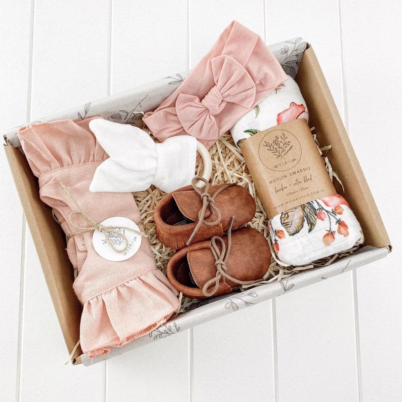 Baby Gift Box Baby Shower Gift Box Newborn Gift Box image 0