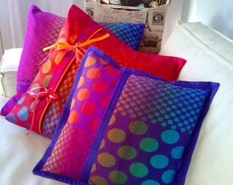 Cashmere Pillows. Handmade. Unique. Set-3 pillows