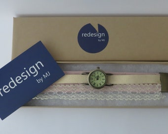 Unusual watch for women. Victorian style inspired women's watch. Exclusive design watch by redesignMJ