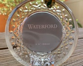 Waterford Crystal Lismore Round Photo Frame NEW