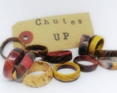 Custom made wooden ring - handmade - wooden ring - gift idea - women's ring - men's ring - engagement ring