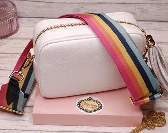 Bag Strap- Detachable Shoulder Strap -Attachable Bag Strap for Handbags - Replacement Bag Strap Camera Bag- Adjustable Guitar Strap