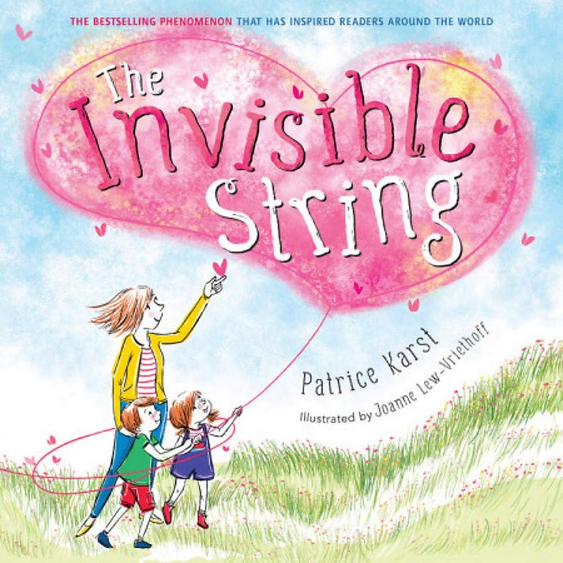The Invisible String Signed Paperback Book image 0
