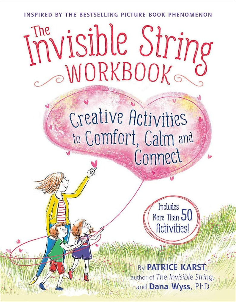 The Invisible String Workbook: Creative Activities to Comfort image 0