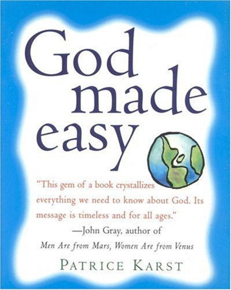 God Made Easy Signed Copy image 0