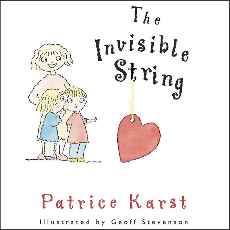 The Invisible String Signed Hardcover Book image 0