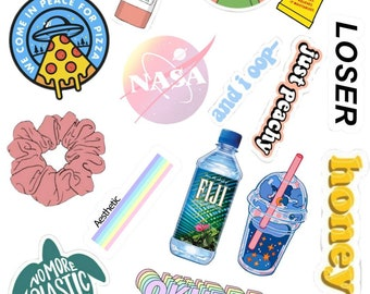 graphic relating to Vsco Stickers Printable named Vsco stickers Etsy