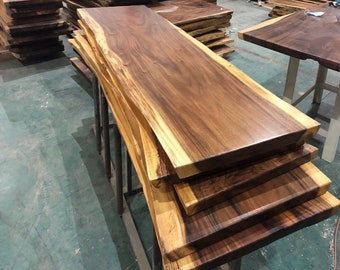 Marvelous Wood Table Top Etsy Home Remodeling Inspirations Cosmcuboardxyz