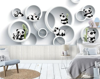 3D Forest E345 Removable Wallpaper Self Adhesive Wallpaper Extra Large Peel /& Stick Wallpaper Wallpaper Mural AJ WALLPAPERS